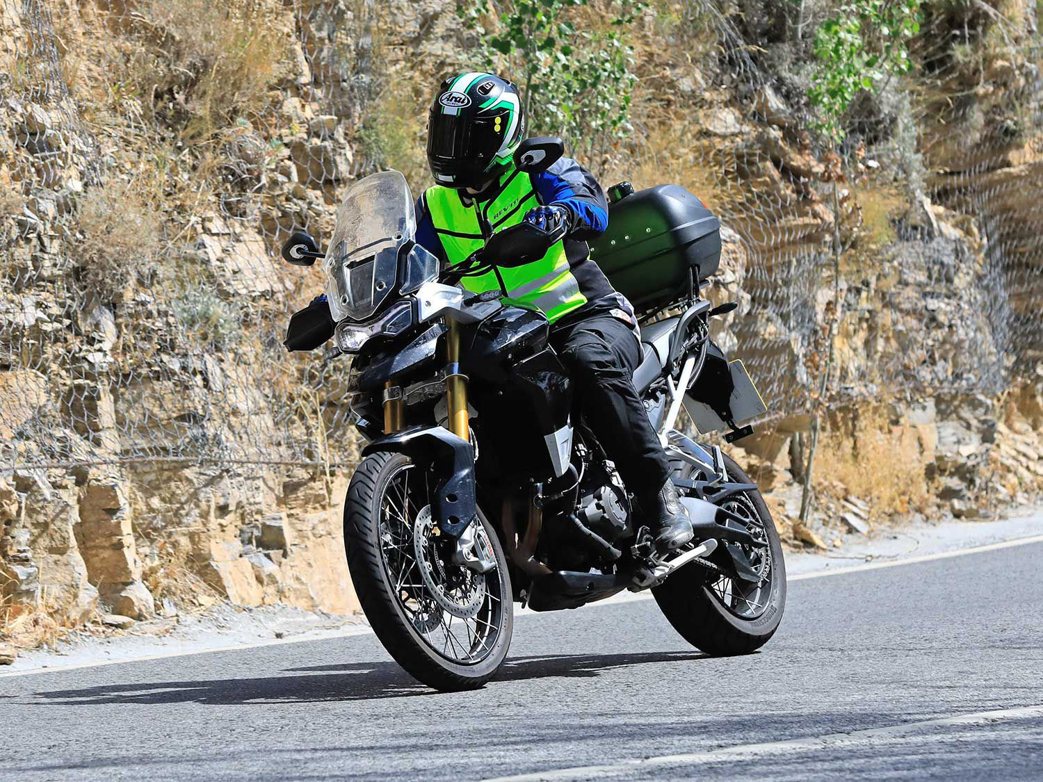 There are heavy revisions to the Tiger 800 for the coming model year.