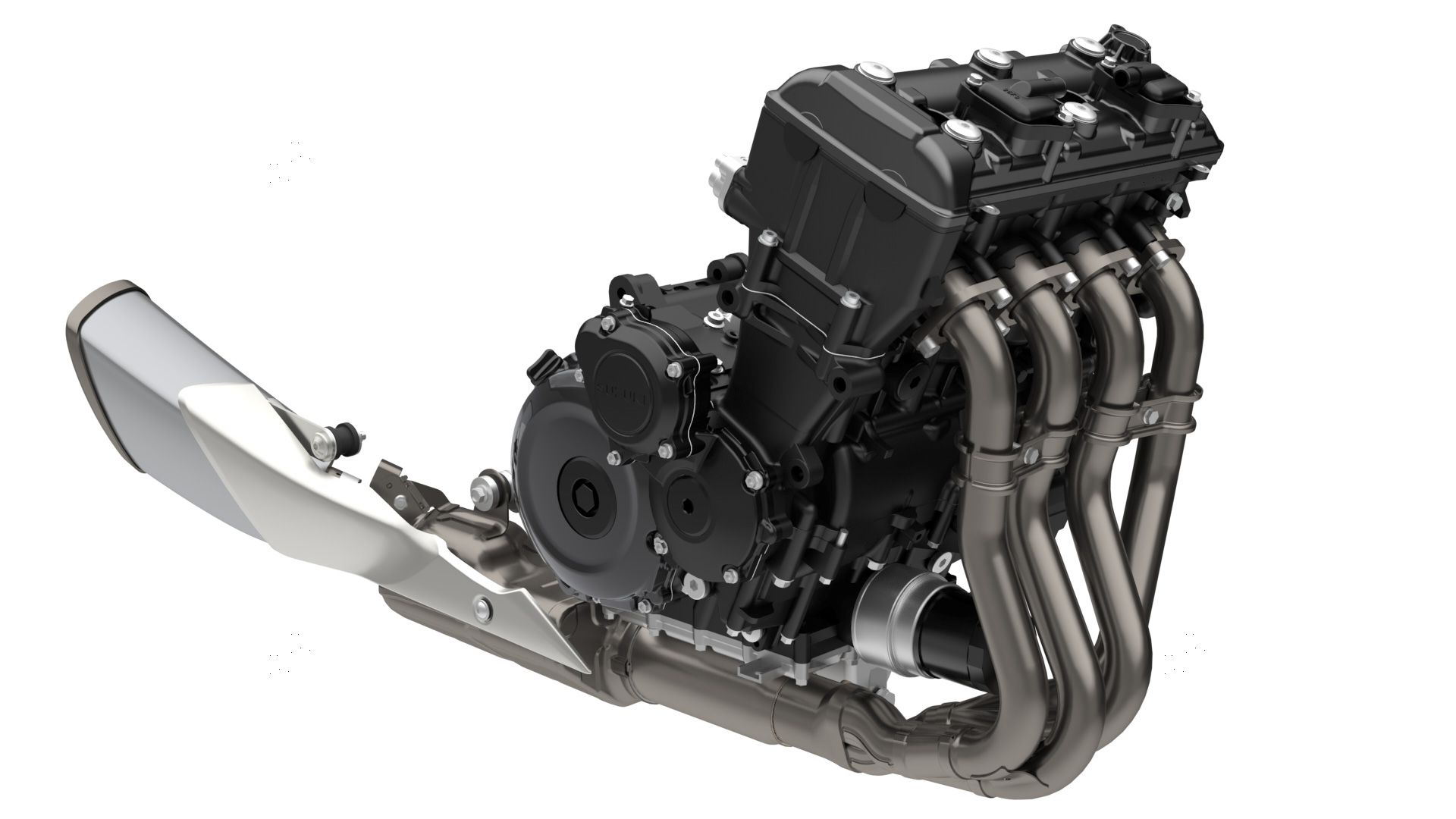 Suzuki tuned the 999cc inline-four specifically for sport-touring duty.