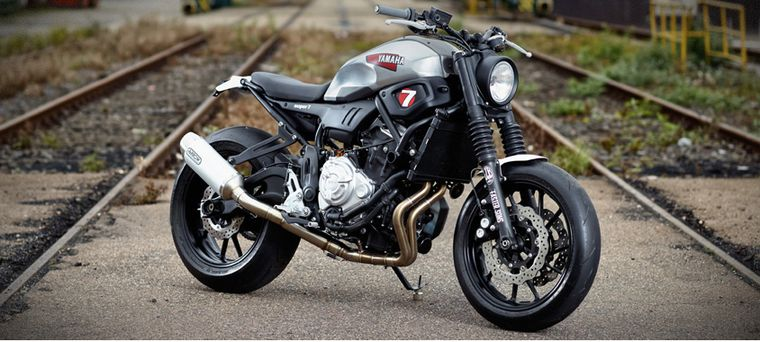 Awesome The 2018 Yamaha Xsr700 Is A Customizers Dream Motorcyclist Evergreenethics Interior Chair Design Evergreenethicsorg