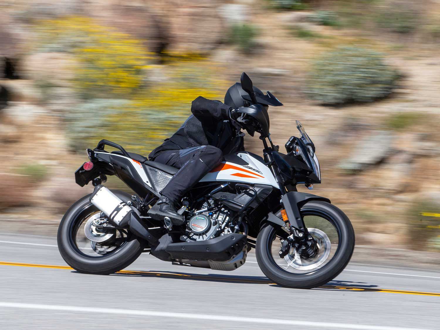 <em>Motorcyclist</em> launches a new podcast. For our first episode, we discuss KTM's fun and affordable 390 Adventure.