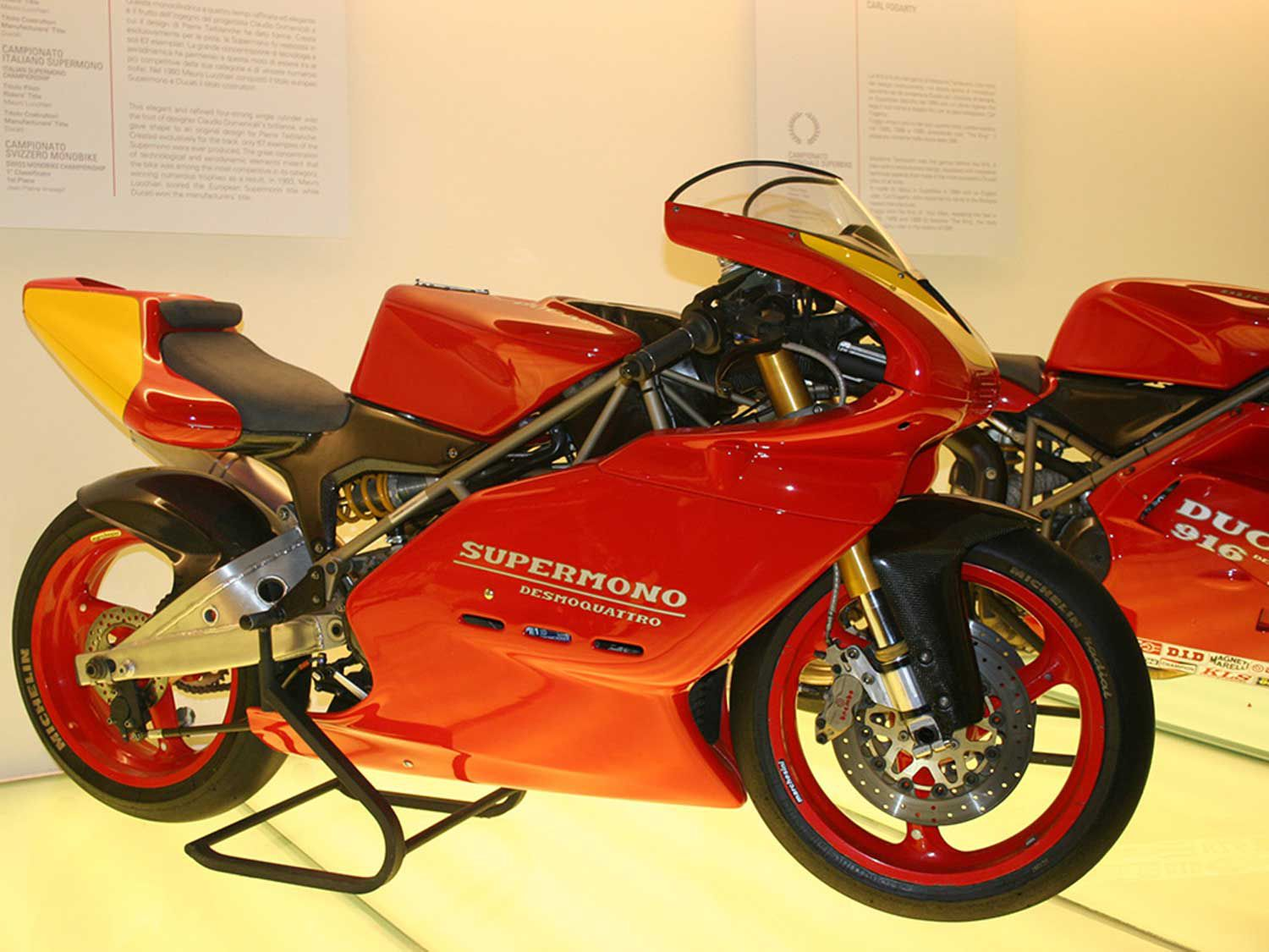 <strong>Ducati Supermono</strong> <br /> The Ducati Supermono: one of our all-time favorite singles.