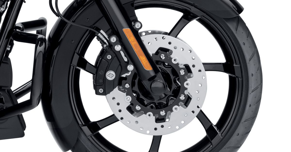 Custom Wrapped Front Fender For Harley-Davidson Touring 2014 And Later