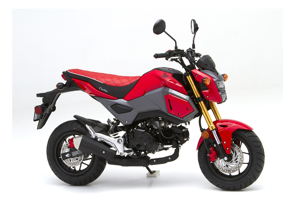 New Corbin Seat for Honda Grom | Motorcyclist