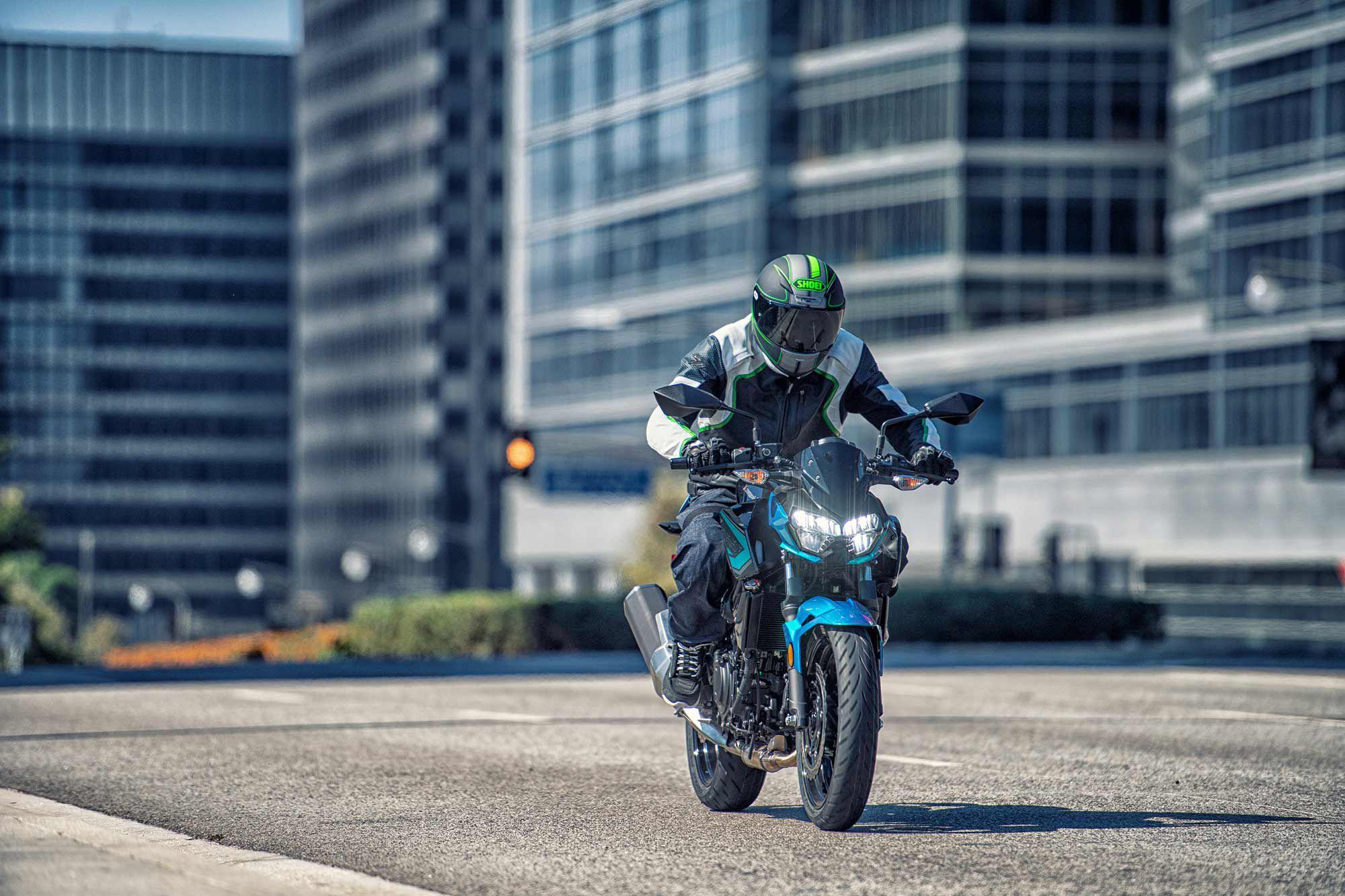 2021 Kawasaki Z400 ABS.