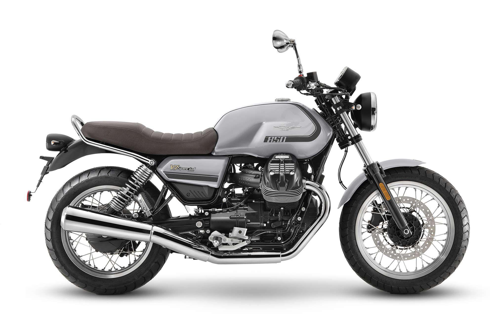 2021 Moto Guzzi V7 Special (Grigio Casual).