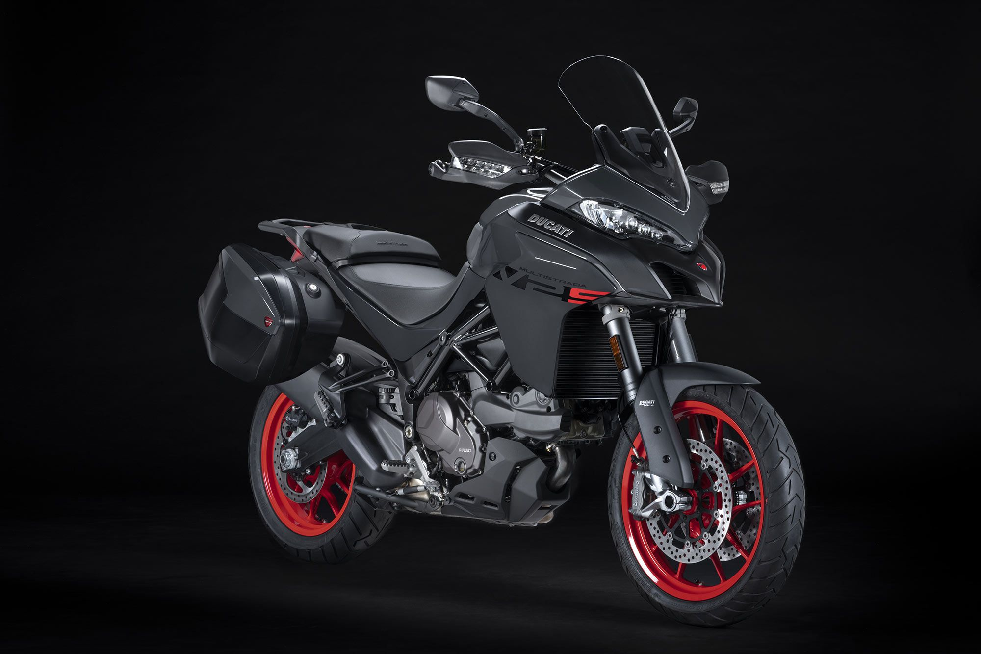 The V2 S will come equipped with Ducati Skyhook Evo suspension.