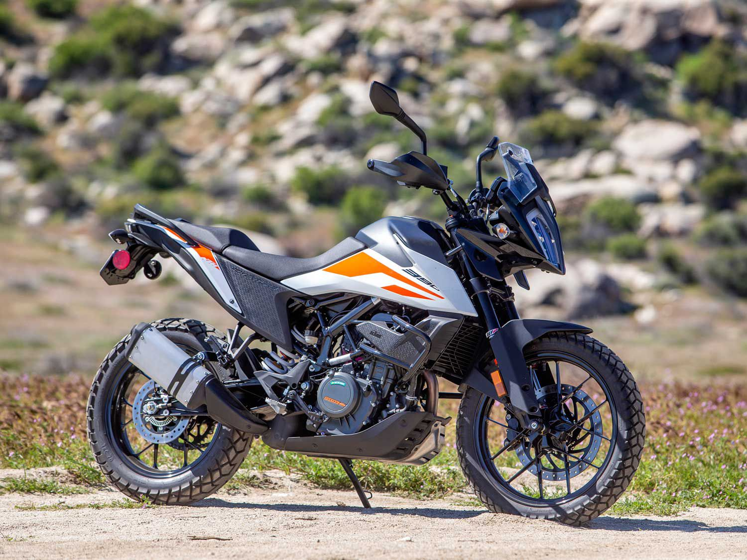 Anything but entry-level. The 390 Adventure from KTM is a solid piece of equipment for its price ($6,199).