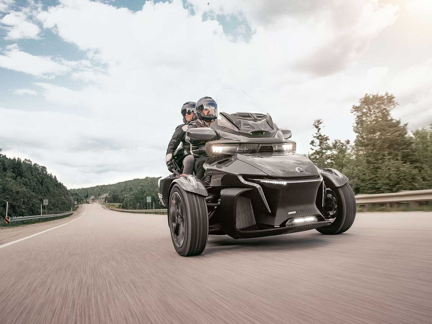 The 2020 Can-Am Spyder RT gets a host of creature comfort updates.