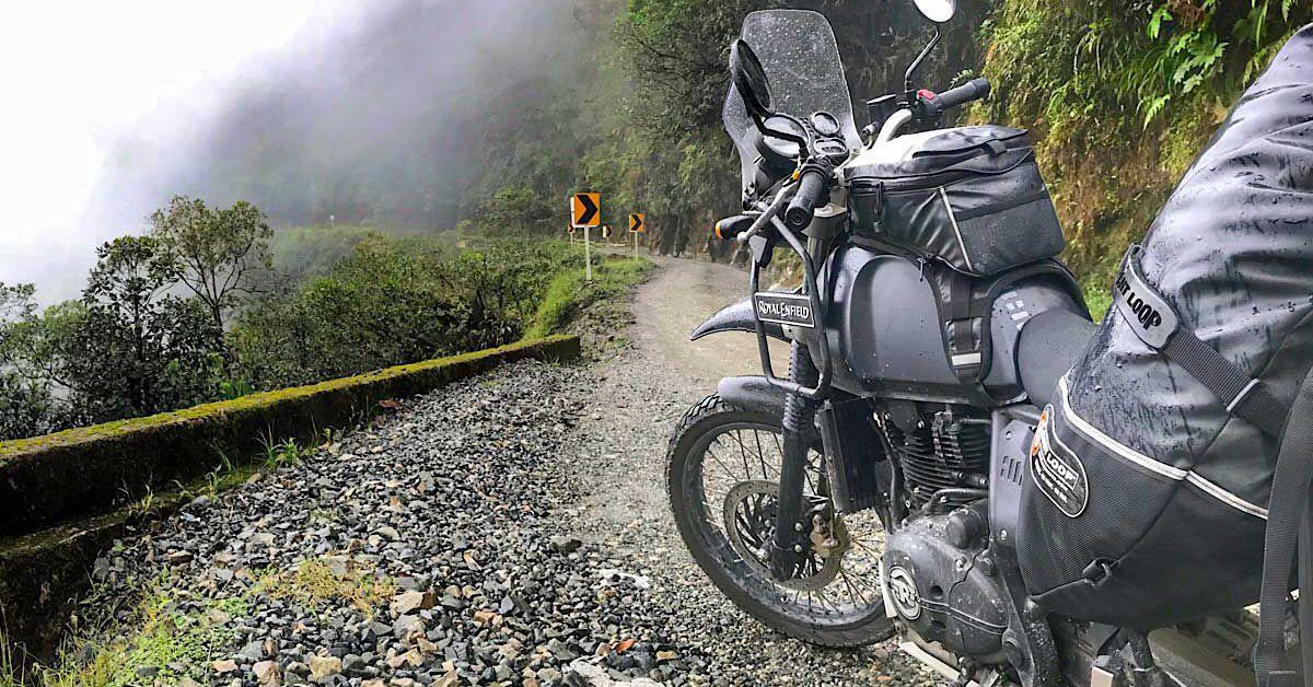 Motorcycle Touring In Colombia—Crossing The Trampoline Of Death