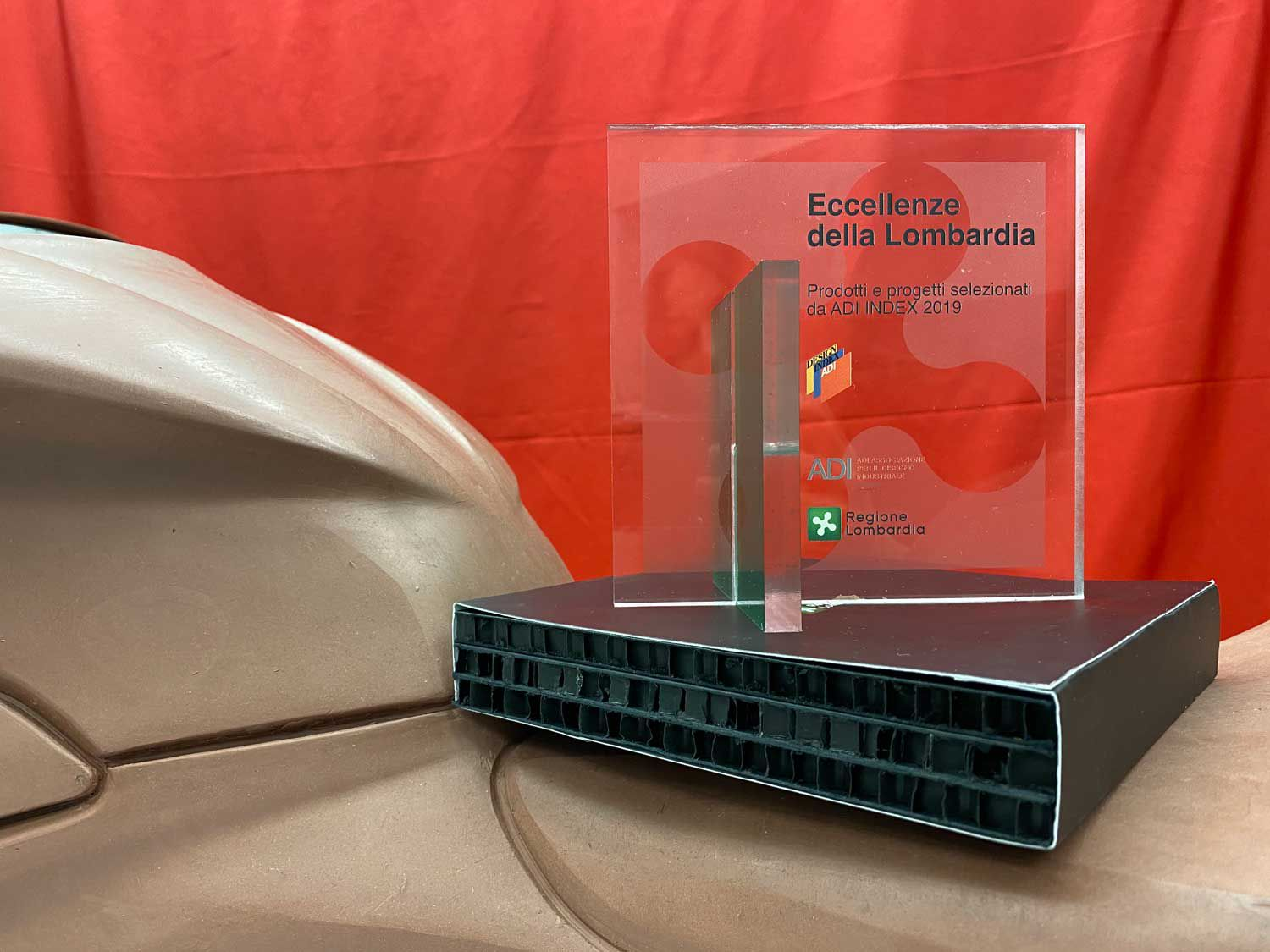 The recognition comes from the prestigious Association for Industrial Design in Italy.