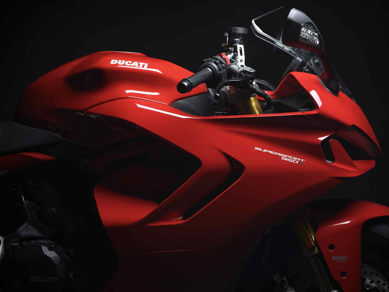 The most obvious change for next year is the sinister daytime running light that looks like it was pulled straight off a Panigale.