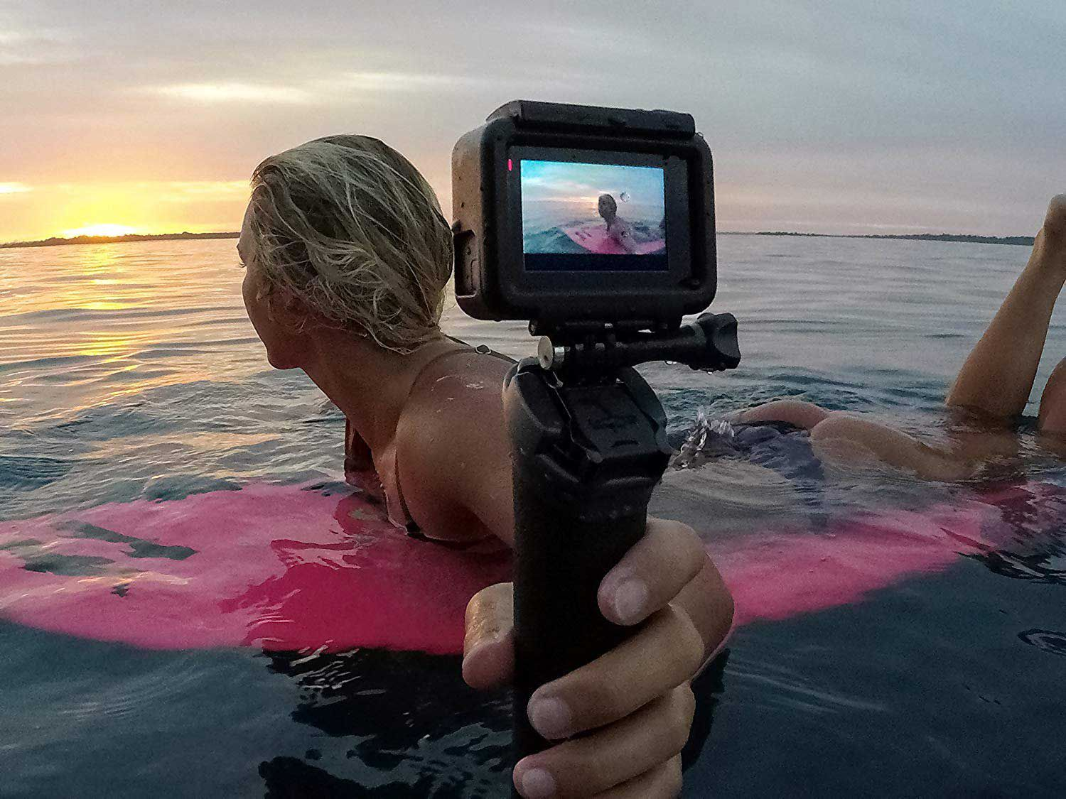 Keep your GoPro Hero above water with this floating grip and other top accessories.