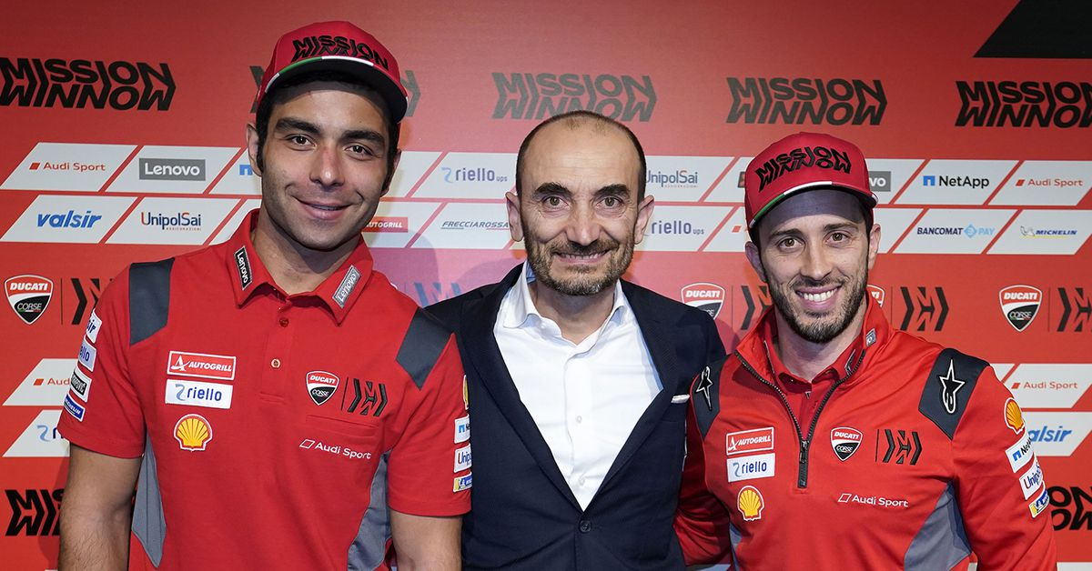 2020 Ducati MotoGP Team Revealed