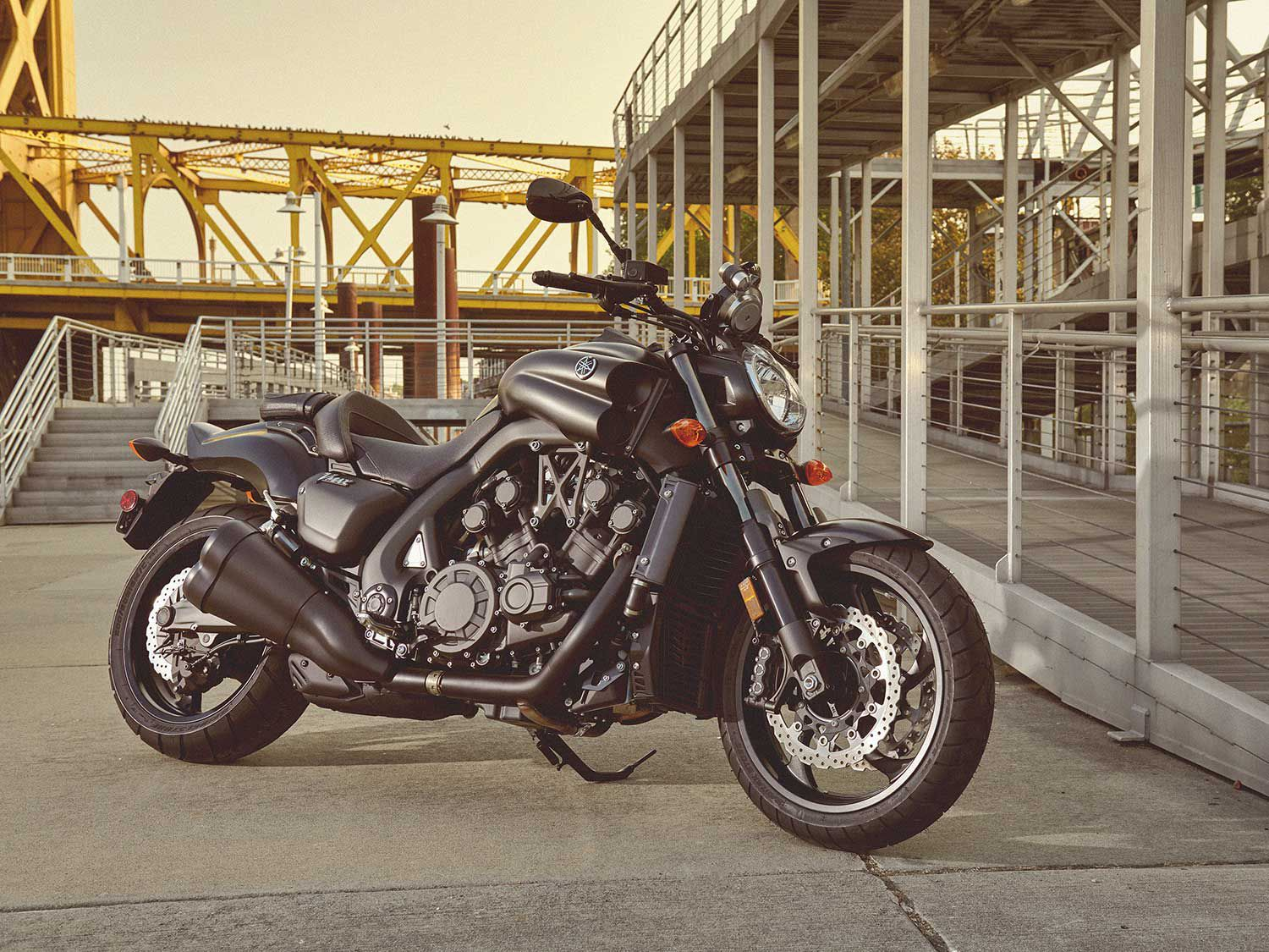 "Yamaha returns its mighty 170-hp-plus VMAX to its US model line for 2020. <a href=""https://www.motorcyclistonline.com/2020-yamaha-vmax-first-look-preview/"">Read the full preview »</a>"